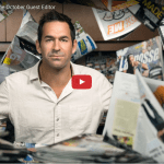 Casey Powell is Lacrosse Magazine's October Guest Editor