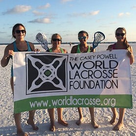 Share, spread and inspire lacrosse worldwide