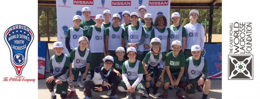 Casey Powell's World Lacrosse Foundation U13 team