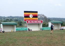 Bill Belichick field in Uganda