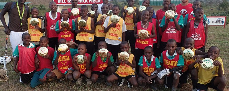 Ugandan Lacrosse Players team photo