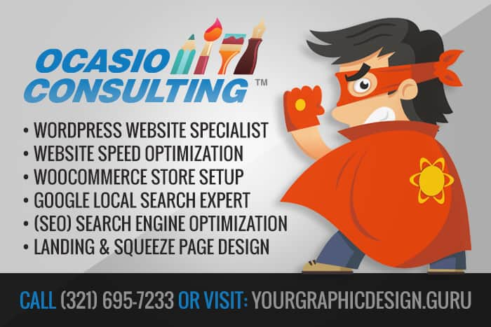 Wordpress Web Design & Seo Services by Ocasio Consulting, LLC